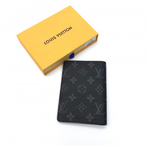 Черная обложка LOUIS VUITTON MONOGRAM ECLIPSE
