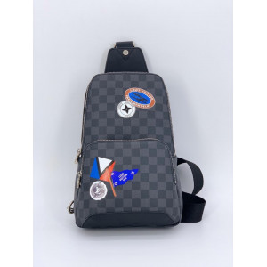 LOUIS VUITTON GRAPHITE AVENUE SLING BAG